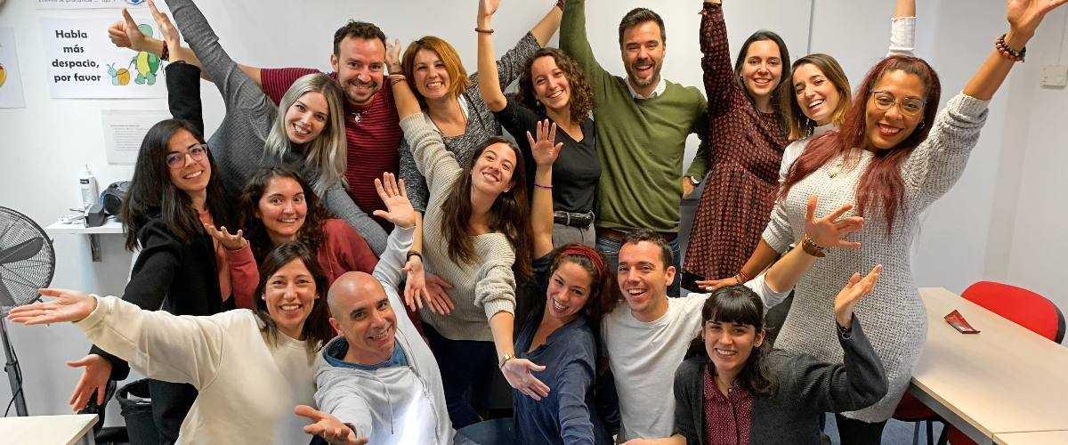 Profesores nativos entusiastas