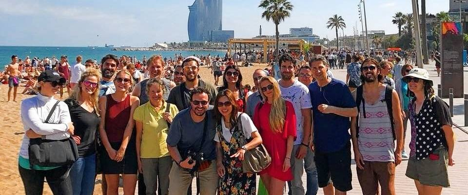 Aprender español a través de actividades culturales - ruta modernista por Barcelona con el profesor